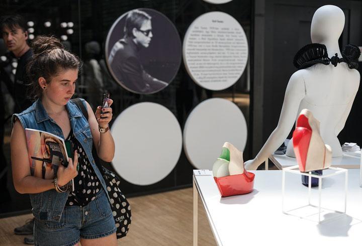 Design-Terminál-kiállítás