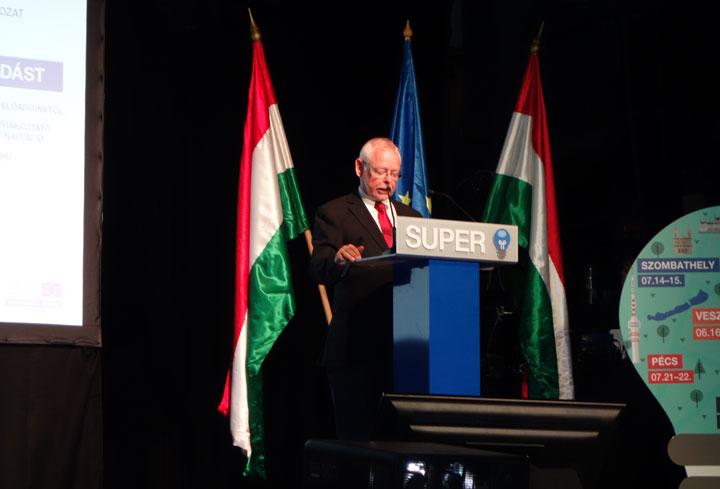 dr. Bagdy Gábor főpolgármester-helyettes