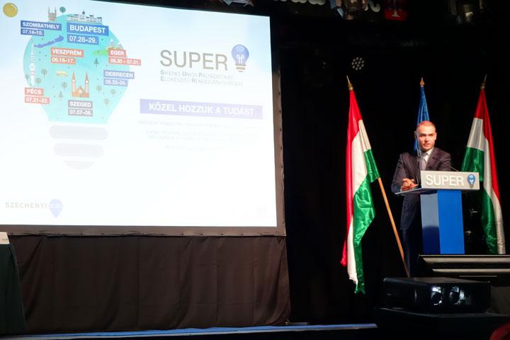 Csepreghy Nándor fejlesztéspolitikai kommunikációért felelős helyettes államtitkár