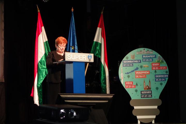 Szalai Piroska, a BVK kuratóriumi elnöke