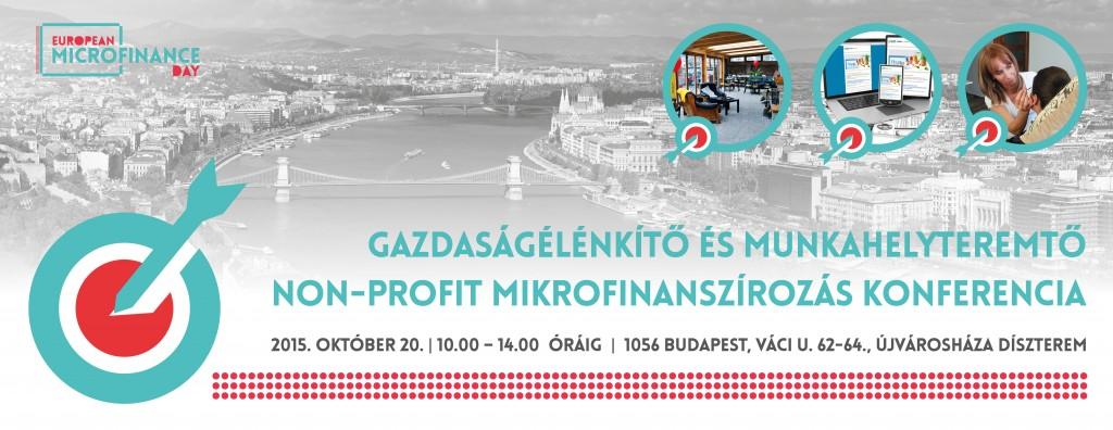 Non-profit hitelek mikrovállalkozásoknak - Non-profit mikrofinanszírozás konferencia